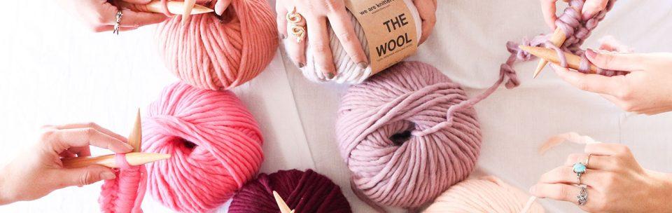 We are knitters: una community di appassionate