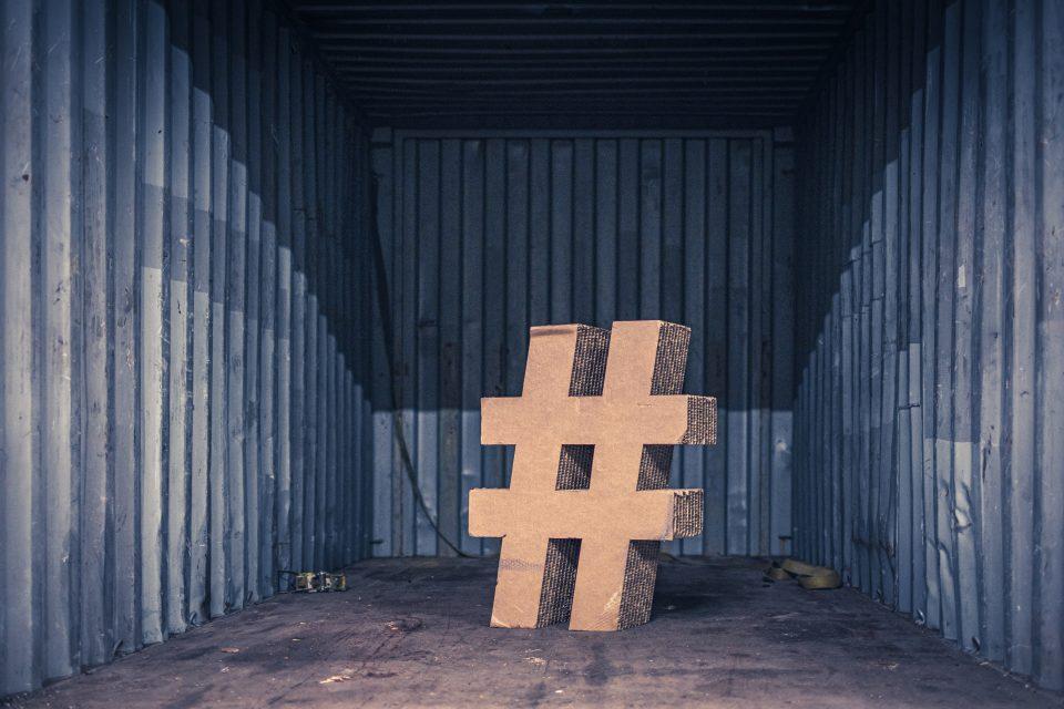 Utilizzo degli hashtag