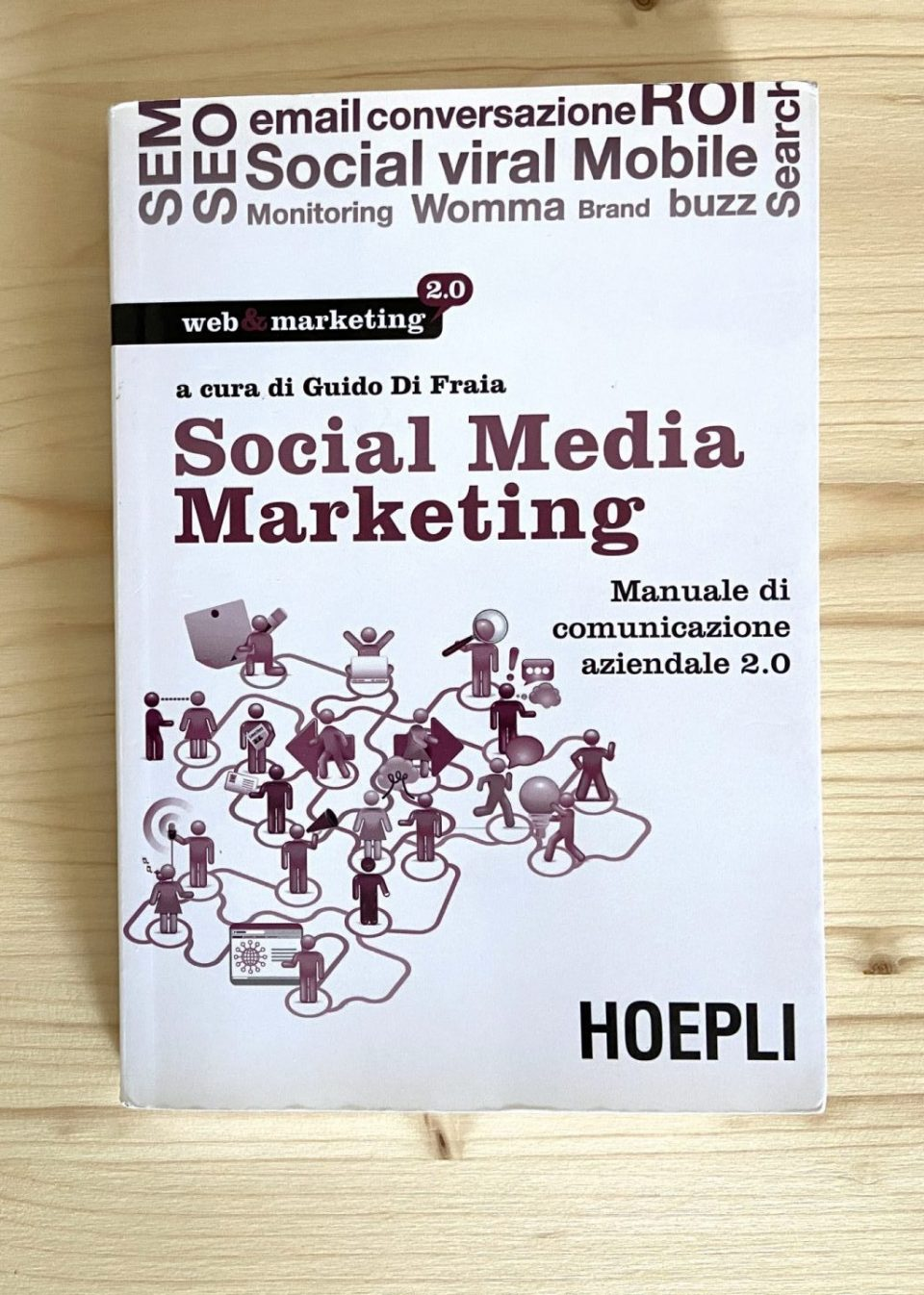 Social media marketing di Guido di Fraia - Cover